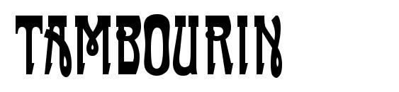 Шрифт Tambourin