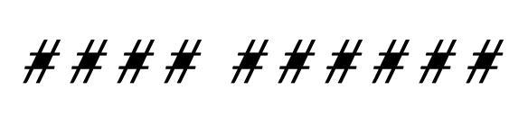 Шрифт Tami Italic