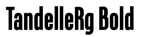 TandelleRg Bold Font