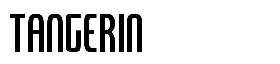 Tangerin font, free Tangerin font, preview Tangerin font