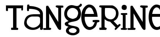 Tangerine font, free Tangerine font, preview Tangerine font