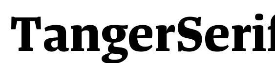 шрифт TangerSerifMedium Bold, бесплатный шрифт TangerSerifMedium Bold, предварительный просмотр шрифта TangerSerifMedium Bold