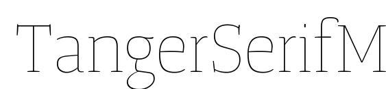 шрифт TangerSerifMediumUl UltraLight, бесплатный шрифт TangerSerifMediumUl UltraLight, предварительный просмотр шрифта TangerSerifMediumUl UltraLight