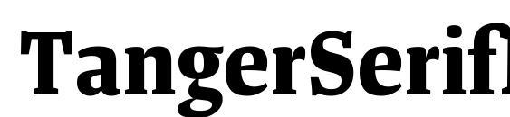 Шрифт TangerSerifNarrow Bold