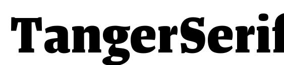 Шрифт TangerSerifNarrow ExtraBold