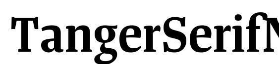 TangerSerifNarrow SemiBold Font
