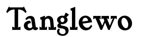 Шрифт Tanglewo