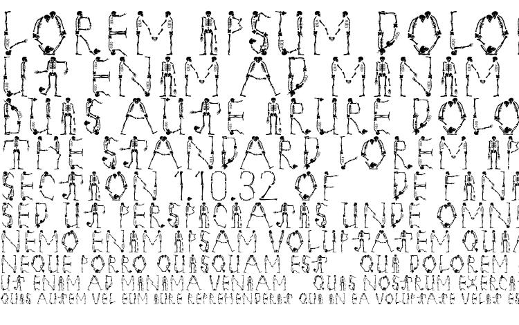 specimens Tangomacabre font, sample Tangomacabre font, an example of writing Tangomacabre font, review Tangomacabre font, preview Tangomacabre font, Tangomacabre font