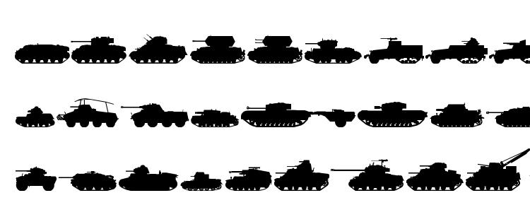 glyphs Tanks ww2 font, сharacters Tanks ww2 font, symbols Tanks ww2 font, character map Tanks ww2 font, preview Tanks ww2 font, abc Tanks ww2 font, Tanks ww2 font