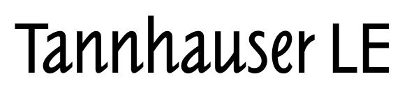 Tannhauser LET Plain.1.0 Font