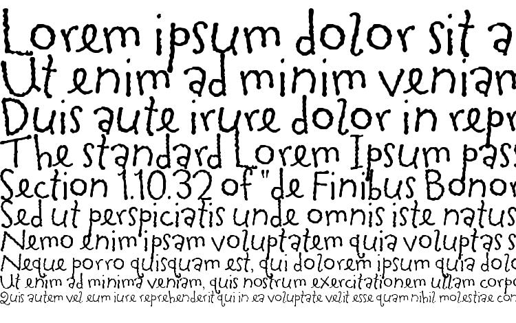 specimens TapiocaITC TT font, sample TapiocaITC TT font, an example of writing TapiocaITC TT font, review TapiocaITC TT font, preview TapiocaITC TT font, TapiocaITC TT font