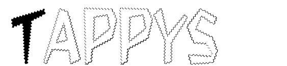 Tappys Font