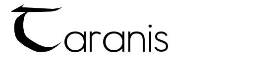 Шрифт Taranis