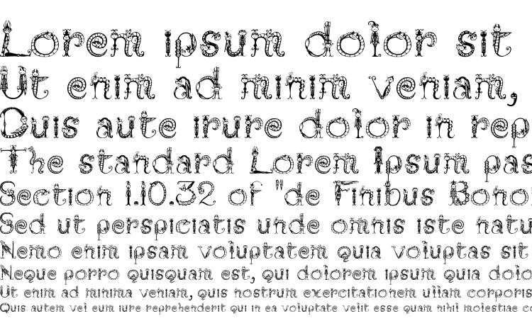 specimens Tarantella MF font, sample Tarantella MF font, an example of writing Tarantella MF font, review Tarantella MF font, preview Tarantella MF font, Tarantella MF font