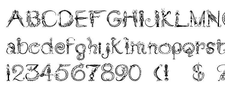 glyphs Tarantella font, сharacters Tarantella font, symbols Tarantella font, character map Tarantella font, preview Tarantella font, abc Tarantella font, Tarantella font