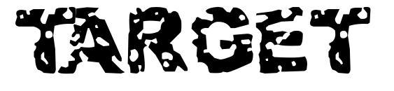 Target practice font, free Target practice font, preview Target practice font