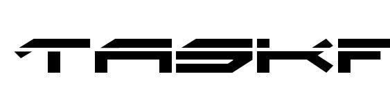 Taskforce Laser Font