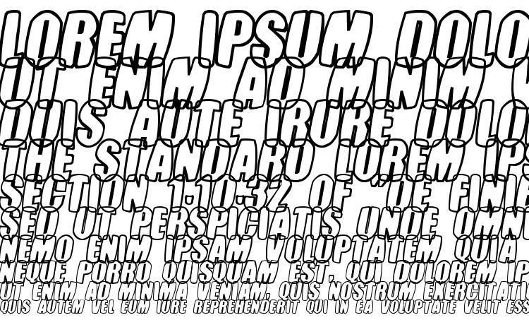 specimens Tasteless Candy font, sample Tasteless Candy font, an example of writing Tasteless Candy font, review Tasteless Candy font, preview Tasteless Candy font, Tasteless Candy font