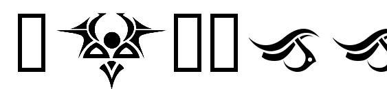 Шрифт Tattooz 1