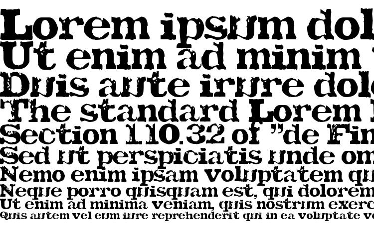 specimens TATU LA font, sample TATU LA font, an example of writing TATU LA font, review TATU LA font, preview TATU LA font, TATU LA font