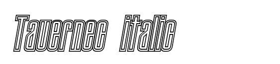 Tauernec italic font, free Tauernec italic font, preview Tauernec italic font