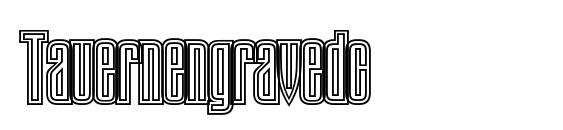 Tauernengravedc font, free Tauernengravedc font, preview Tauernengravedc font