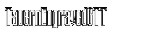 TauernEngravedCTT Font