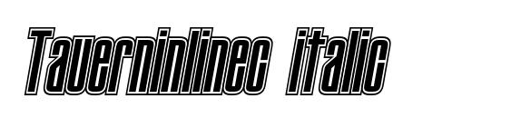 Tauerninlinec italic Font