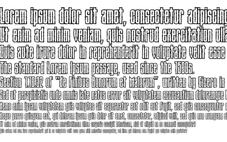 specimens Tauernroughc font, sample Tauernroughc font, an example of writing Tauernroughc font, review Tauernroughc font, preview Tauernroughc font, Tauernroughc font
