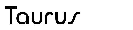 Taurus Font
