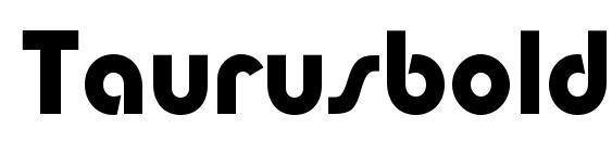 Taurusboldc Font