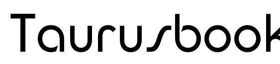 Taurusbookc Font