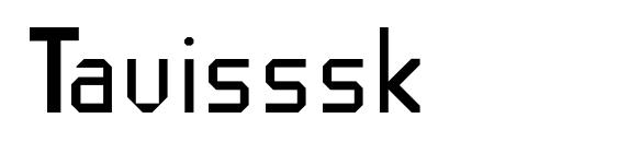 Tavisssk Font