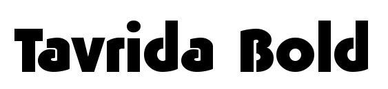 Tavrida Bold font, free Tavrida Bold font, preview Tavrida Bold font