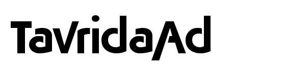 TavridaAd Font
