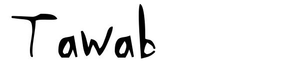 Шрифт Tawab