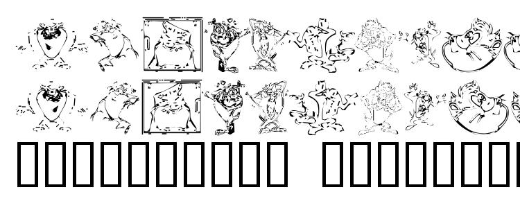 glyphs Tazthedevil font, сharacters Tazthedevil font, symbols Tazthedevil font, character map Tazthedevil font, preview Tazthedevil font, abc Tazthedevil font, Tazthedevil font