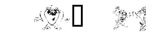 Tazthedevil Font