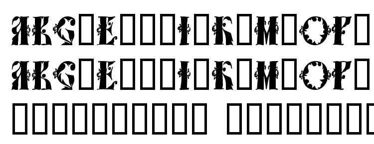 глифы шрифта Tchekhonin1, символы шрифта Tchekhonin1, символьная карта шрифта Tchekhonin1, предварительный просмотр шрифта Tchekhonin1, алфавит шрифта Tchekhonin1, шрифт Tchekhonin1