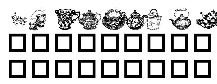 glyphs Tea time i font, сharacters Tea time i font, symbols Tea time i font, character map Tea time i font, preview Tea time i font, abc Tea time i font, Tea time i font
