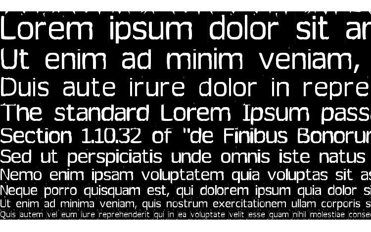 specimens Tearoff font, sample Tearoff font, an example of writing Tearoff font, review Tearoff font, preview Tearoff font, Tearoff font