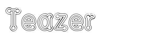 Шрифт Teazer