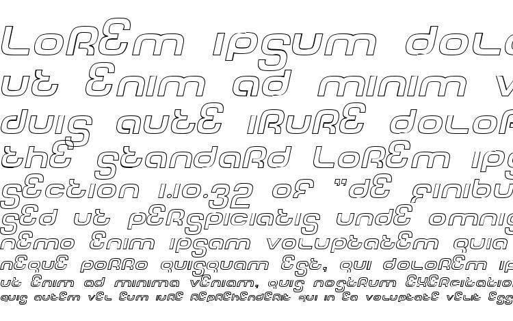 specimens Tech font outline italic font, sample Tech font outline italic font, an example of writing Tech font outline italic font, review Tech font outline italic font, preview Tech font outline italic font, Tech font outline italic font