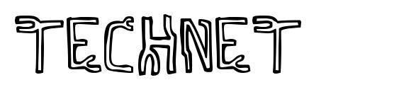 Шрифт Technet
