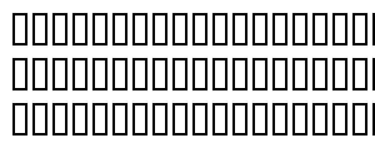 глифы шрифта Technic, символы шрифта Technic, символьная карта шрифта Technic, предварительный просмотр шрифта Technic, алфавит шрифта Technic, шрифт Technic