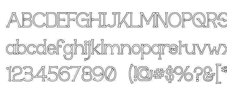 glyphs Technically Insane Outline font, сharacters Technically Insane Outline font, symbols Technically Insane Outline font, character map Technically Insane Outline font, preview Technically Insane Outline font, abc Technically Insane Outline font, Technically Insane Outline font