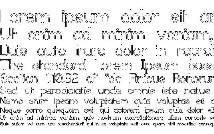 образцы шрифта Technically Insane Outline, образец шрифта Technically Insane Outline, пример написания шрифта Technically Insane Outline, просмотр шрифта Technically Insane Outline, предосмотр шрифта Technically Insane Outline, шрифт Technically Insane Outline