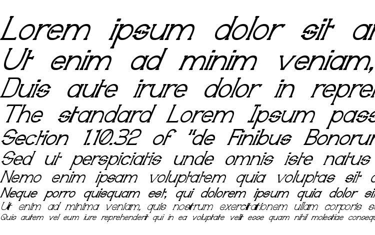 specimens Technically Insane Superitalic font, sample Technically Insane Superitalic font, an example of writing Technically Insane Superitalic font, review Technically Insane Superitalic font, preview Technically Insane Superitalic font, Technically Insane Superitalic font