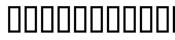 Шрифт TechnicLite