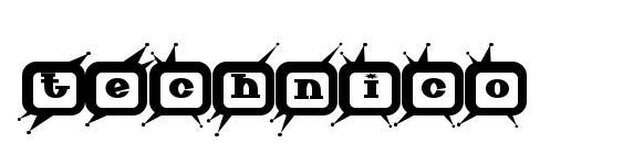 Technico Font